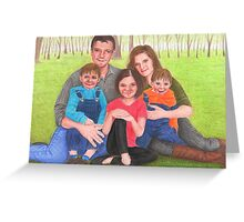 Caskett family  Greeting Card