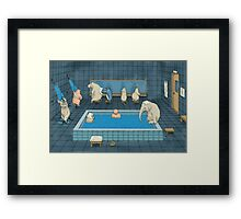 The Bathers Framed Print
