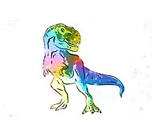 T-Rex | Rainbow Series | Pop Art Photographic Print