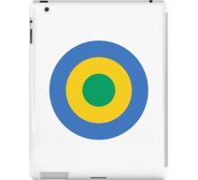 Gabon Air Force - Roundel iPad Case/Skin