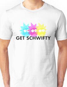 GET SCHWIFTY (CMYK) Unisex T-Shirt