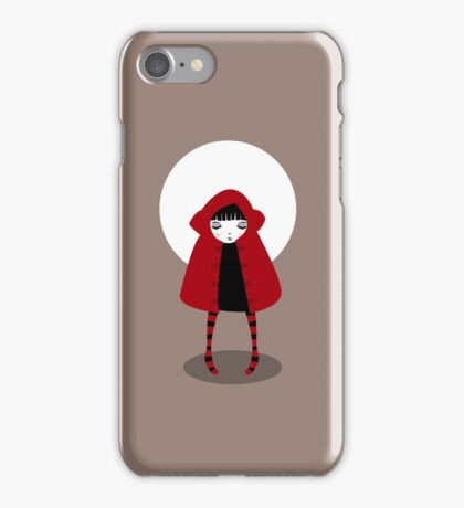 Little Red Riding Hood iPhone Case/Skin