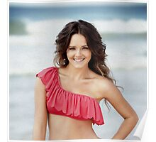 Rebecca Breeds - Oil Paint Art (Square) Poster