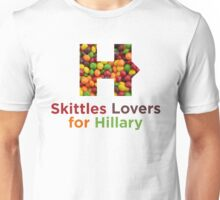 Skittles Lovers for Hillary Unisex T-Shirt