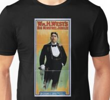 Performing Arts Posters Wm H Wests Big Minstrel Jubilee 1956 Unisex T-Shirt