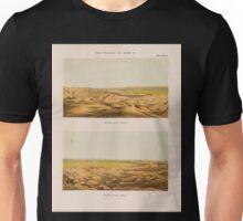 0763 Theben Thebes Panorama von Qurnah Qurna aus Ansicht nach Osten Ansicht nach Süden Unisex T-Shirt