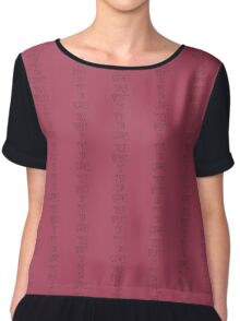 the best is yet to come Chiffon Top