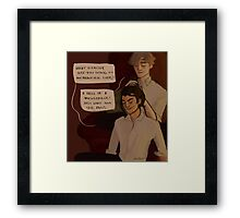 Remus and Sirius Framed Print