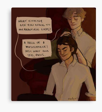 Remus and Sirius Canvas Print