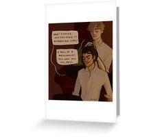 Remus and Sirius Greeting Card