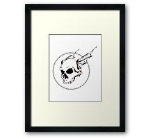 BLACKFLAGCAFE Framed Print