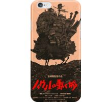 Howl's Moving Castle Original Poster iPhone Case/Skin