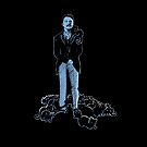 David Bowie As Tesla by rebecca-miller