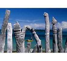 Voodoo Fence Photographic Print
