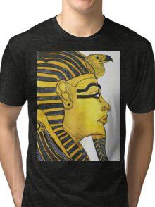 Mask of Gold Tee Tri-blend T-Shirt