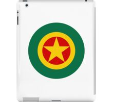 Ethiopian Air Force - Roundel iPad Case/Skin