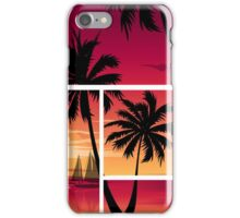 Vector Palm Tree design iPhone Case/Skin