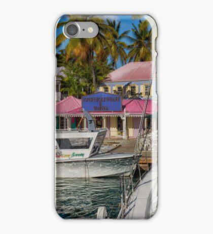 Soper's Hole Wharf And Marina iPhone Case/Skin