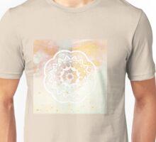 White mandala Unisex T-Shirt