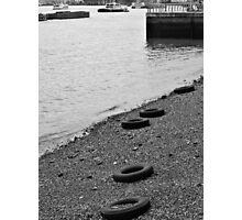 The tired tyres  Photographic Print