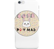 Cute But Mad iPhone Case/Skin