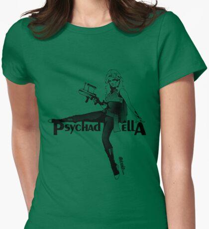 Barbarella (Psychadella) Womens Fitted T-Shirt