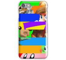 Smash for WiiU and 3DS - Old School 64  iPhone Case/Skin