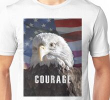 American Bald Eagle Symbol of Courage Unisex T-Shirt