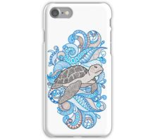 Turtle ... Just keeps swimming  iPhone Case/Skin