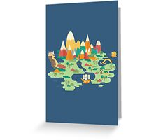 Neverland Greeting Card