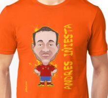 Andres Iniesta World Cup Spain Unisex T-Shirt