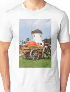 Vintage windmil in Cha Am,Thailand Unisex T-Shirt