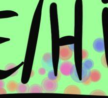 He/Him Pronouns Sticker