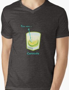 Make mine a Caipirinha Mens V-Neck T-Shirt