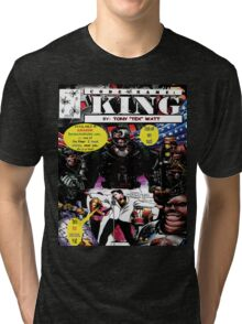 """Code Name: King""  - Comic Book Promo Poster  Tri-blend T-Shirt"