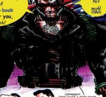 """Code Name: King""  - Comic Book Promo Poster  Sticker"