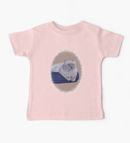 Bayou - A Portrait of a Himalayan Cat  Baby Tee