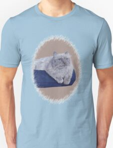 Bayou - A Portrait of a Himalayan Cat  T-Shirt