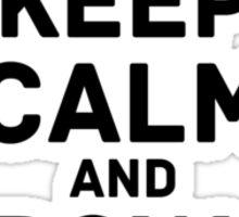keep calm browndots Sticker