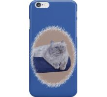 Bayou - A Portrait of a Himalayan Cat  iPhone Case/Skin