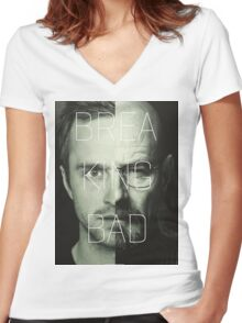 Breaking Bad Women's Fitted V-Neck T-Shirt