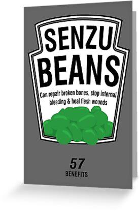 Senzu Beans by tombst0ne
