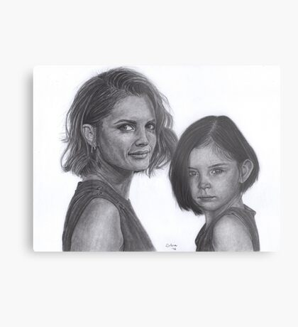 Kate and Lily Castle Metal Print