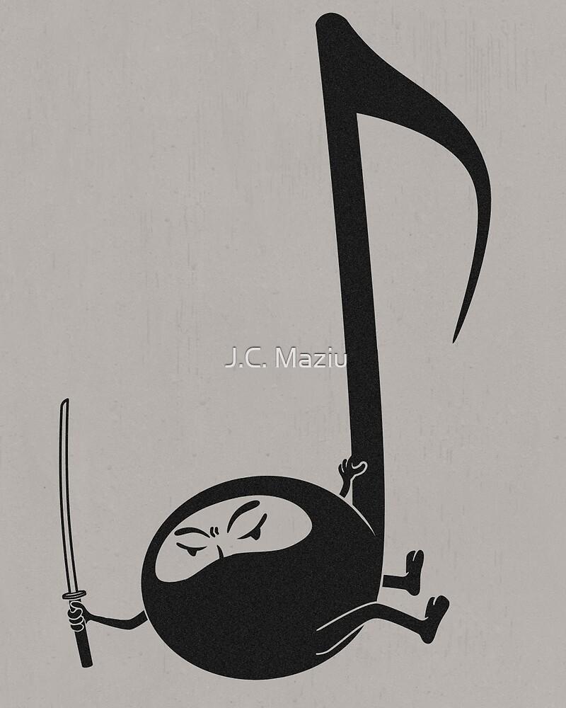 Ninjaaaaah! by J.C. Maziu