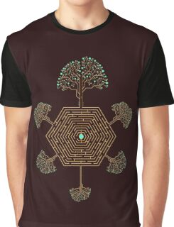 Roots Maze Graphic T-Shirt