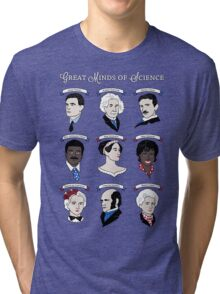 Great Minds of Science {Set} Tri-blend T-Shirt