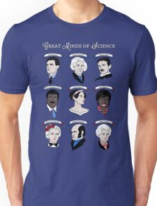 Great Minds of Science {Set} Unisex T-Shirt