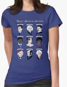 Great Minds of Science {Set} Womens Fitted T-Shirt