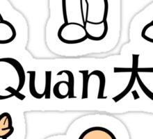 MiniFu: TaijiQuan Sticker
