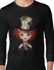 Lady Hatter Long Sleeve T-Shirt